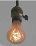 light bulb -
